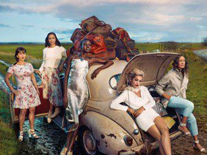 M&S Leading Ladies advertising campaign