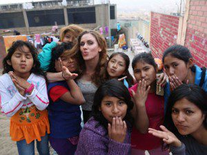 Cassandra Bankson visits the Sagrada Familia project