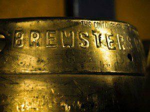 Brewster's Brewery keg