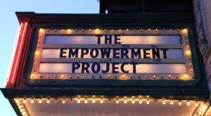 The Empowerment Project sign