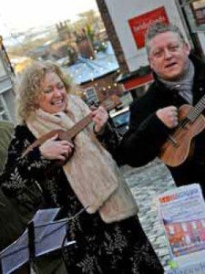 Ukuleles at Treacle Market