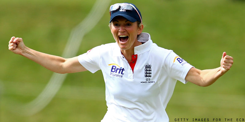 Charlotte Edwards, Captain of England Women's Cricket team ...