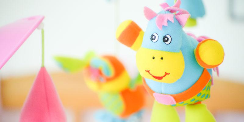 Toys in nursery