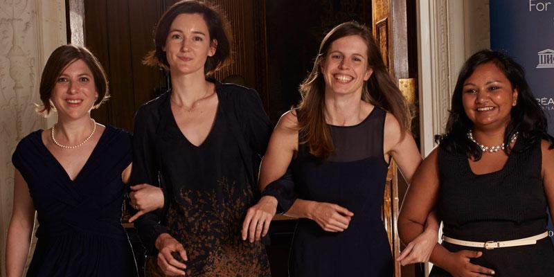 For Women in Science Winners 2014