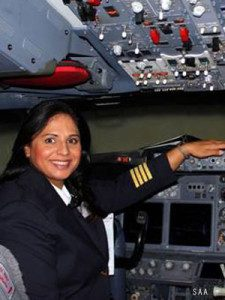 Kavistha Maharaj - South African Airways pilot