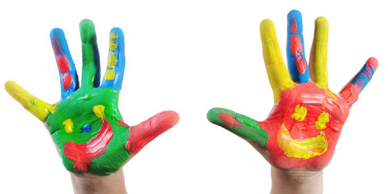Childrens' hands