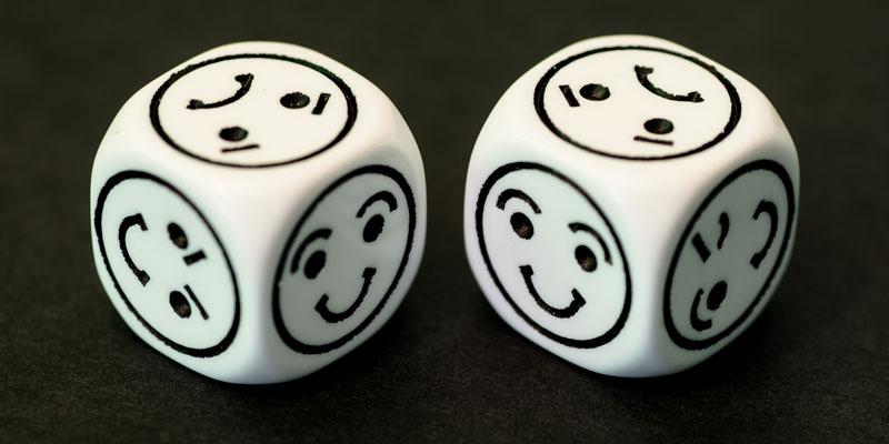 Happy dice