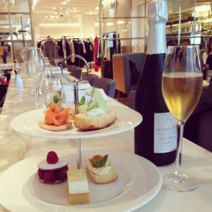 Skinny Champagne afternoon tea