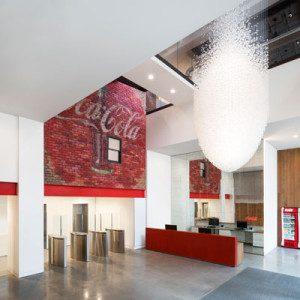 Coca-Cola HQ in London