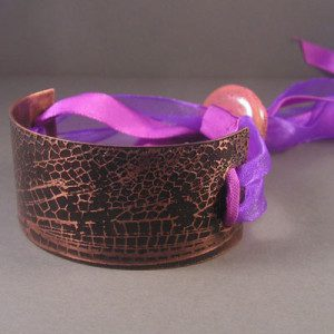 Bracelet with ribbon