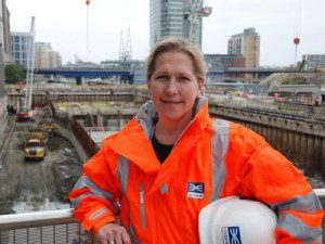 Linda Miller - Crossrail Project Manager for Connaught Tunnel