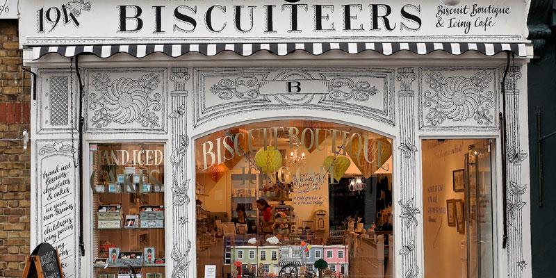 Biscuiteers shop front