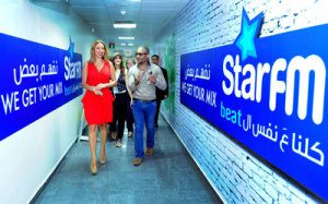 Lina Husri and Joelle Mardinian at Star FM