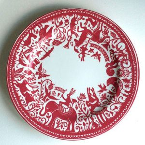 Plate by Kate Forrester