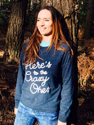 Tease and Totes - Here's to the crazy ones sweatshirt