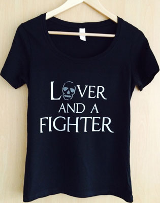 Polly Wilton - Lover-and-a-Fighter-t-shirt-315-x-400
