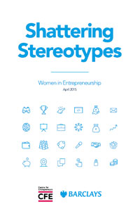 Shattering Centre for Entrepreneurs Stereotypes report cover