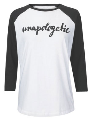 Tease and Totes Unapologetic t-shirt