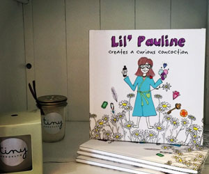 Lil' Pauline in shop