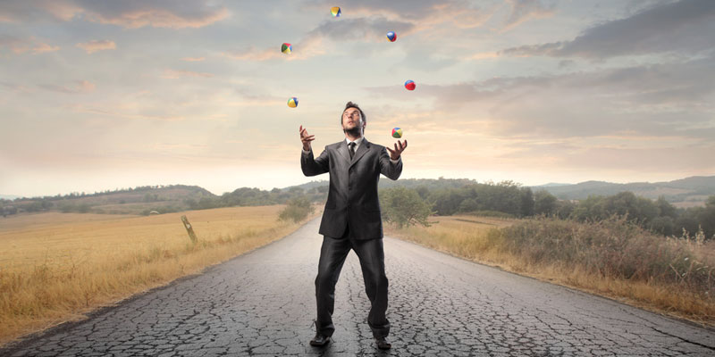 Juggling work and life