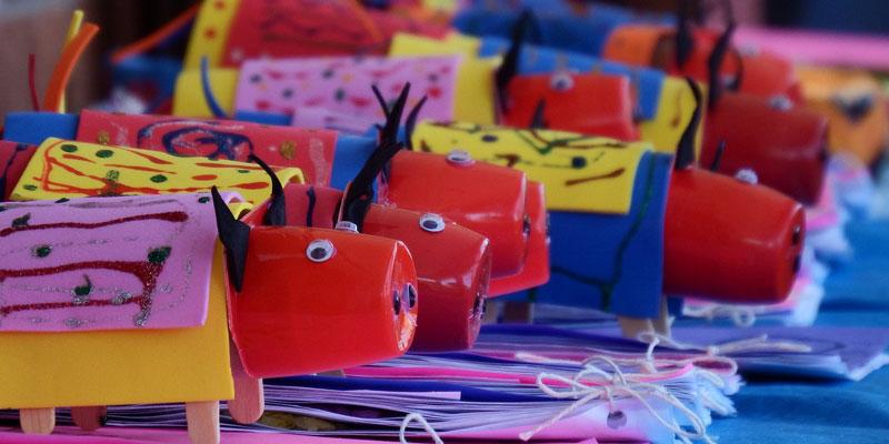 Childrens crafts