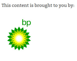 Brought to you by BP