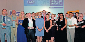 Legal Aid Lawyer of the-Year Awards 2015