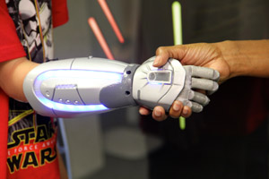 Bionics Star Wars hand