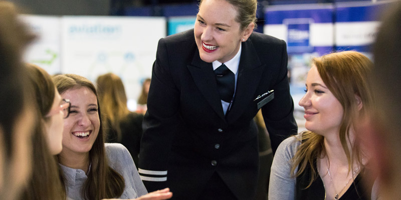 Becoming an airline pilot is possible for anyone – male or female ...