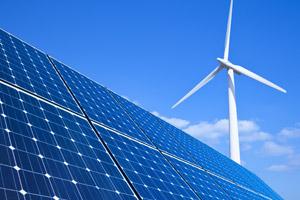 Wind energy and solar power