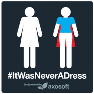 #ItWasNeverADress