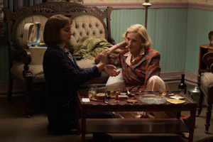 Rooney Mara as 'Therese' and Cate Blanchett as 'Carol'