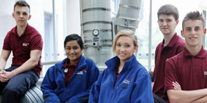 British Airways engineering apprentices
