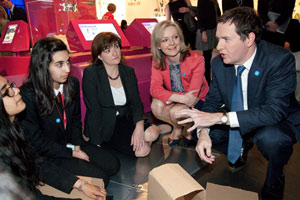 George Osborne at the Your Life launch