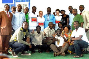 Training with the deaf in Cameroon