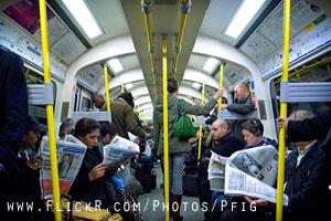 Commuting - London Underground