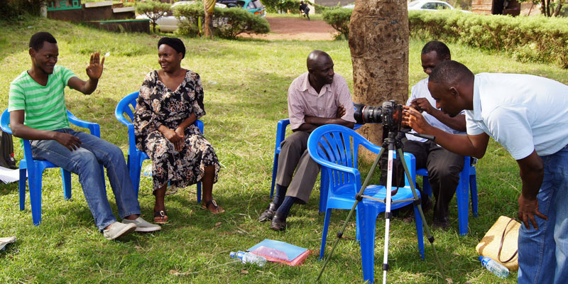 Deaf community storytelling in Uganda