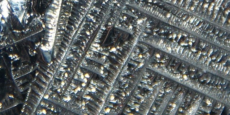 Tellurium crystals