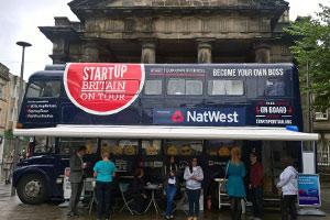 StartUp Britain bus tour