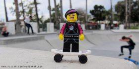 Lego skate park girl