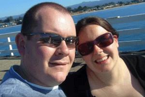Chris Pointon and Kate Granger