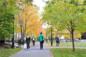 Harvard Business School campus