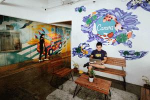 Canva office in Manila