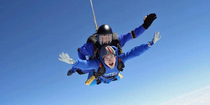 Jonathan Cliffe - Mummys Star skydive