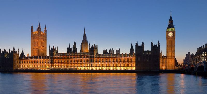 Palace of Westminister - London
