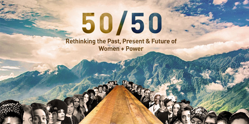 Tiffany Schlain - 50/50: Rethinking the Past, Present and Future of Women and Power