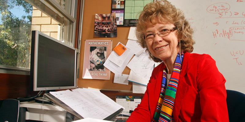 Professor Cheryl Praeger - UWA