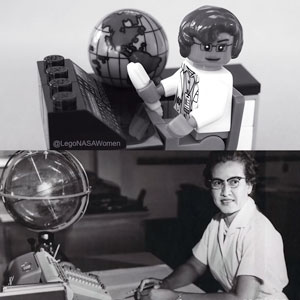 Katherine Johnson - LEGO Women of NASA