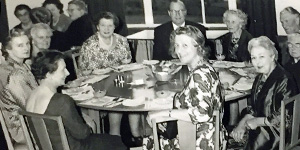 MWF dinner in the 1960s