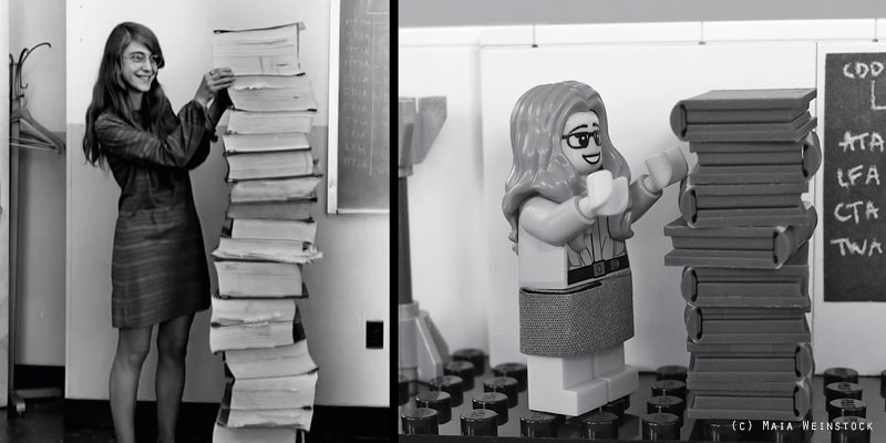 Margaret Hamilton - LEGO Women of NASA